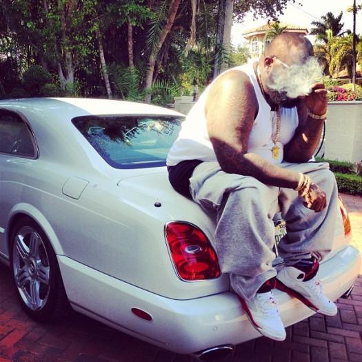 Rick-Ross-Bentley-Air-Jordan-Retro-5-Sneakers